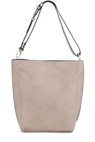 Warehouse Bonded Hobo Shopper Bag