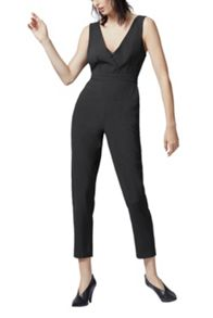 Warehouse Cross Front Jumpsuit