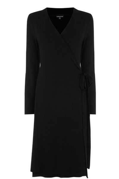 Warehouse Belted Wrap Dress