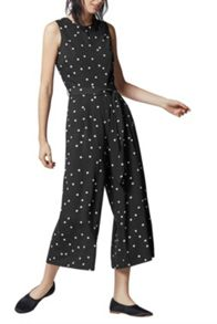 Warehouse Dotty Jumpsuit