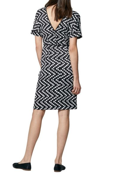 Warehouse Zig Zag Dress