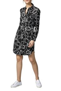 Warehouse Rope Print Shirt Dress