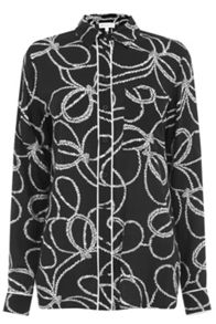 Warehouse Rope Print Shirt