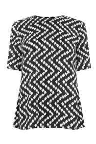 Warehouse Chevron Print T-Shirt