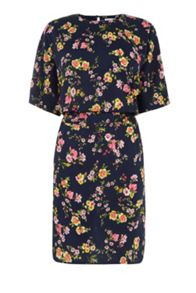 Warehouse Spaced Sidney Floral Dress