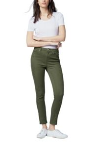 Warehouse Crop Skinny Cut Jeans