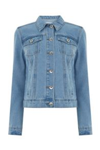 Warehouse Short Denim Jacket