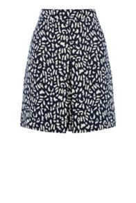Warehouse Animal Printed Skirt