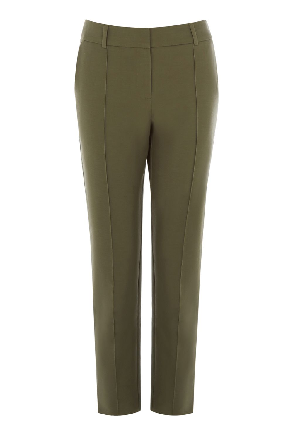 Warehouse Compact Cotton Trouser, Khaki