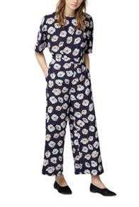 Warehouse Floating Floral Jumpsuit