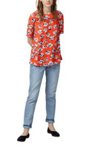 Warehouse Floating Floral T-Shirt