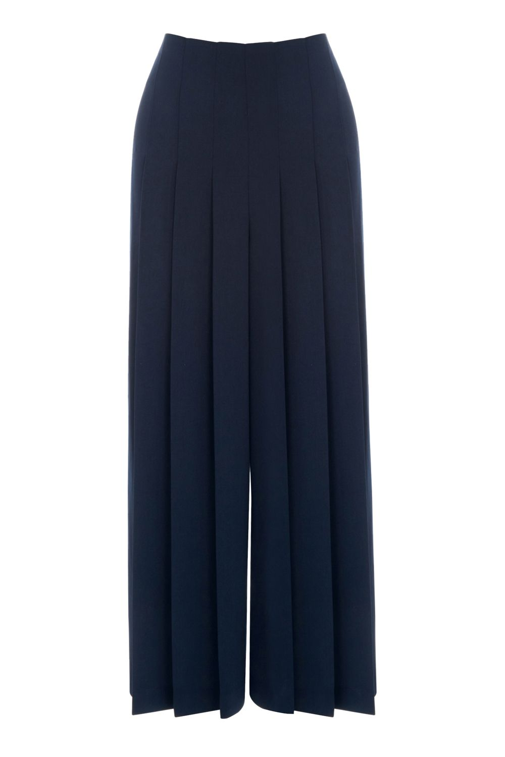 Warehouse PLEATED CULOTTES, Blue