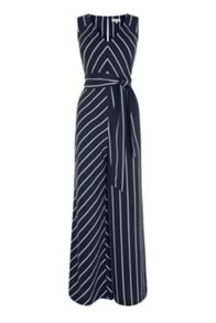 Warehouse Stripe Jumpsuit