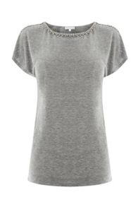 Warehouse Diamonte Trim Tee