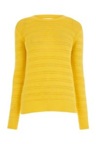 Warehouse STITCHY OPEN BACK JUMPER