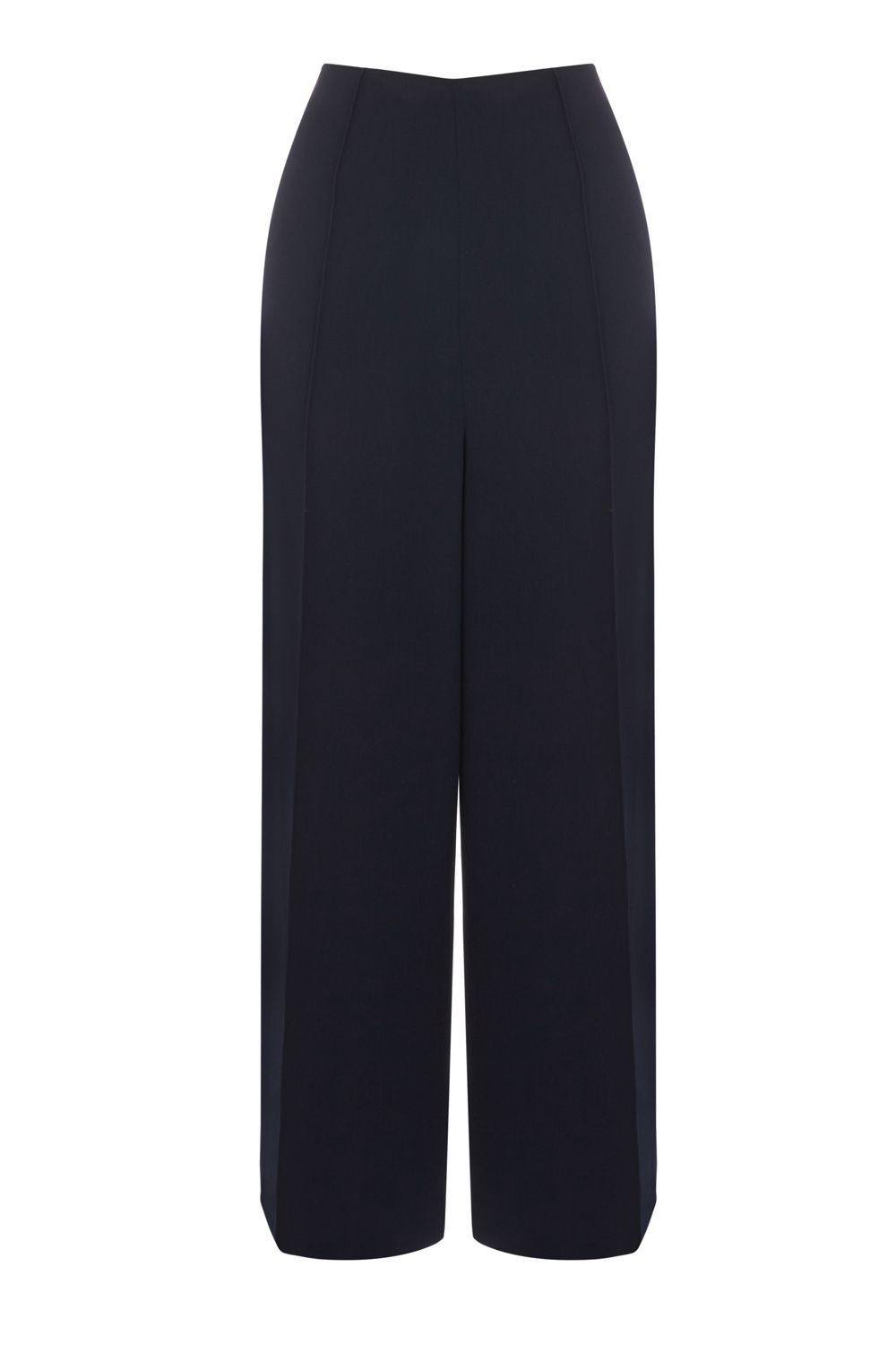 Warehouse Pintuck Culottes, Blue