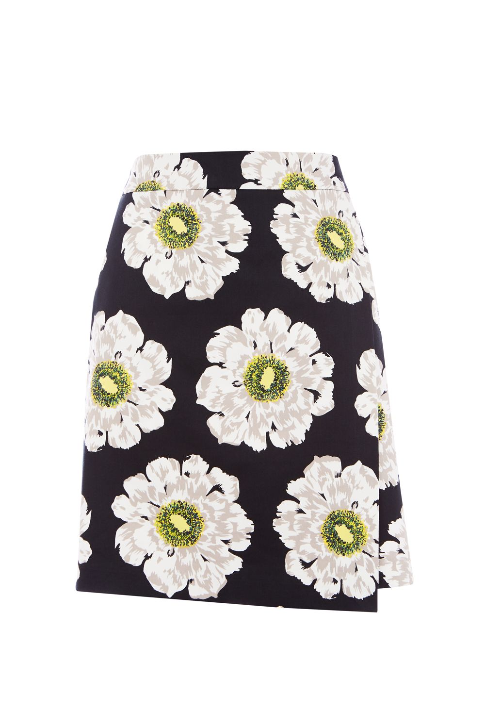 Warehouse Melody Floral Skirt, Multi-Coloured