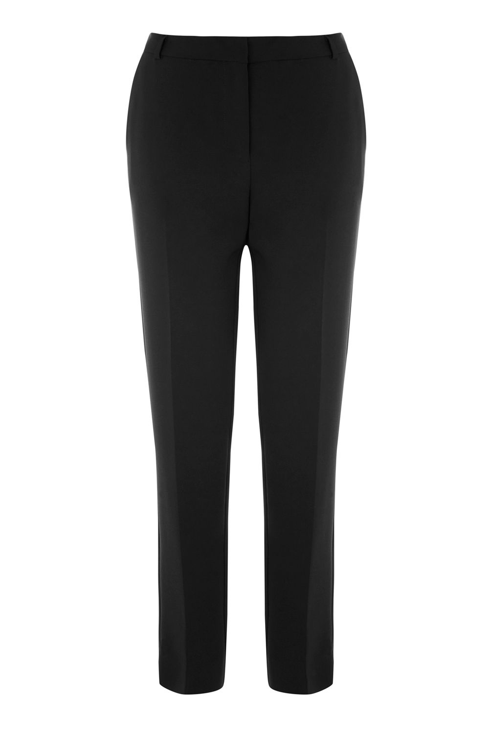 Warehouse Slim Leg Trouser, Black