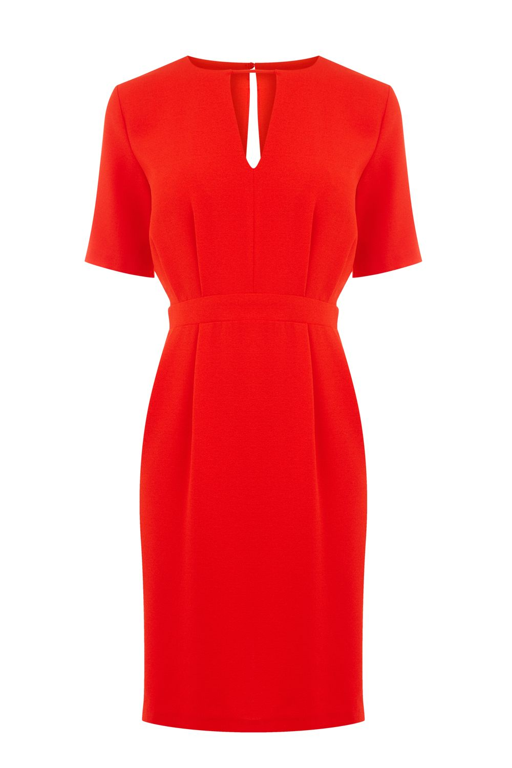 Warehouse V Front Dress, Red
