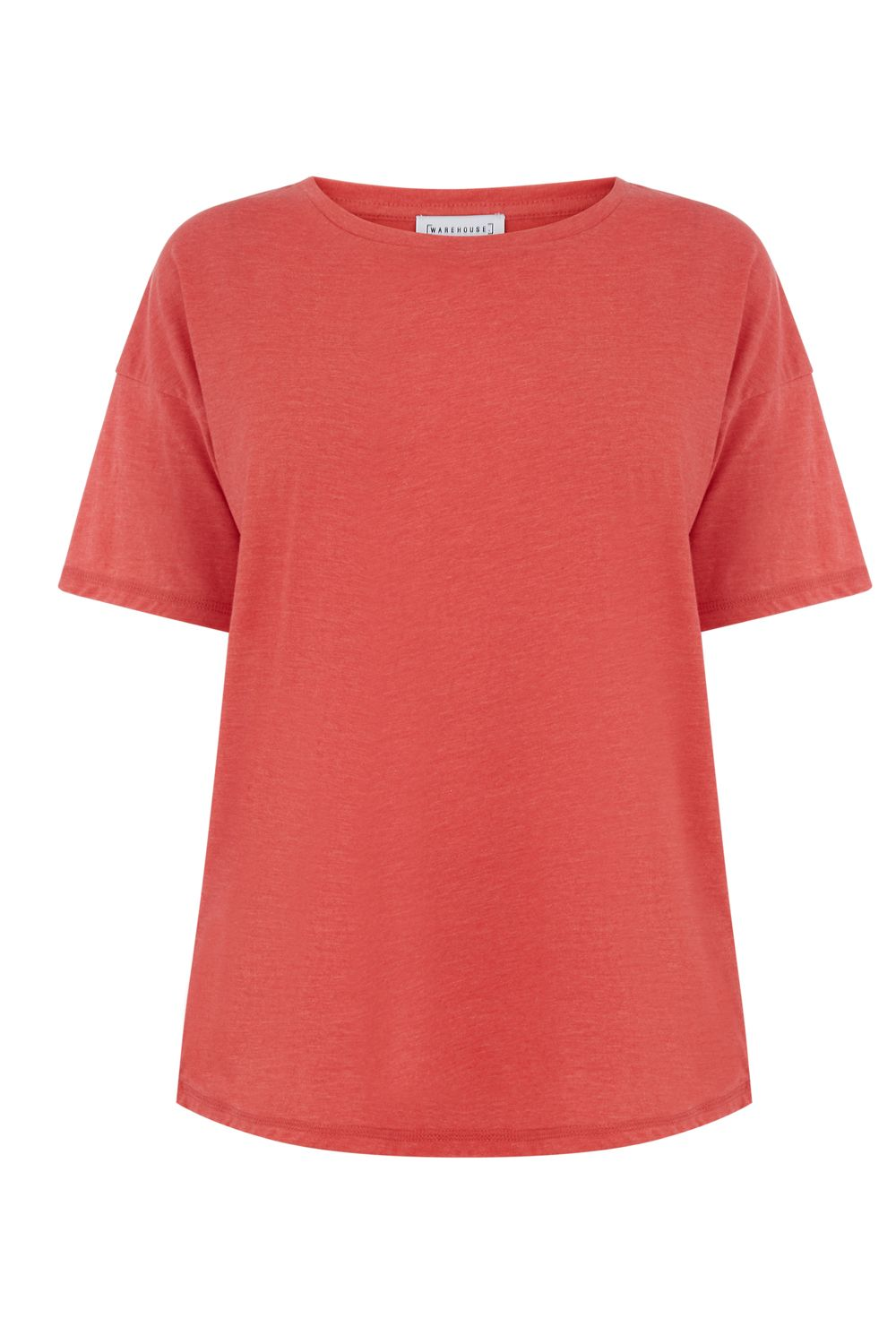 Warehouse Casual Tee, Red