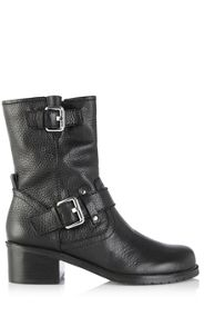 Ankle biker boot