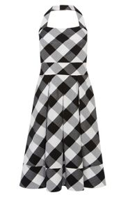 Karen Millen Gingham Full Skirted Dress