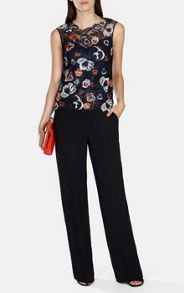 Colourful Floral Embroidery Top