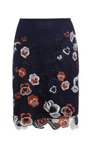 Colourful Embroidered Skirt