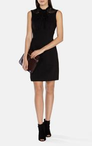 Karen Millen Tie Neck Detail Dress
