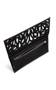 Karen Millen Cutwork Clutch