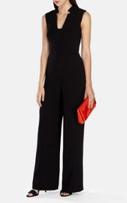 Karen Millen Tailored Crepe Jumpsuit