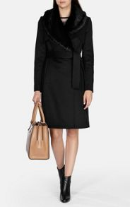 Karen Millen Signature Wool Trench Coat