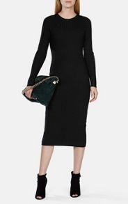 Karen Millen Cable Knit Midi Dress