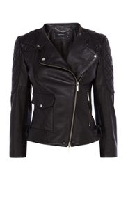 Karen Millen New Biker Signature Jacket