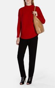 Pod Rib Shape Knit Jumper