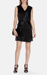 Karen Millen Draped Panelled Dress