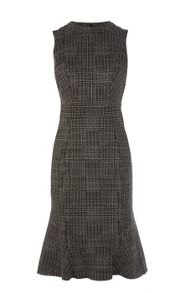 Karen Millen Graphic Print Texture Dress