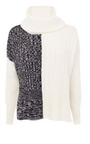Tweedy Graphic Knit Jumper