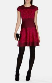 Karen Millen Lace Pattern Dress