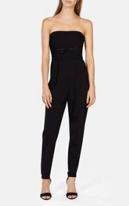 Karen Millen Strapless Tailored Jumpsuit