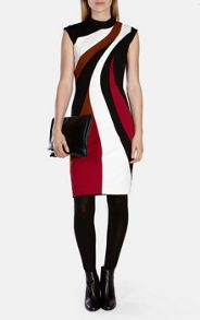 Crazy Colourblock Dress