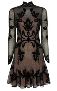 Gothic Long Sleeved Dress