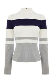 Ponte Roma Stripe Top