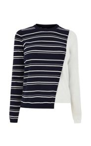 Karen Millen Colour Block Jumper