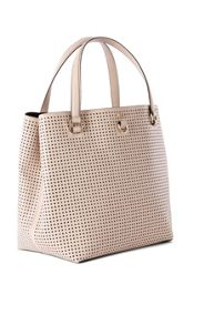 Karen Millen Perforated Bucket Bag