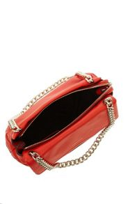 Karen Millen Leather and chain bag