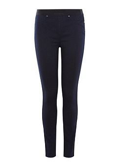 Satin Denim Legging