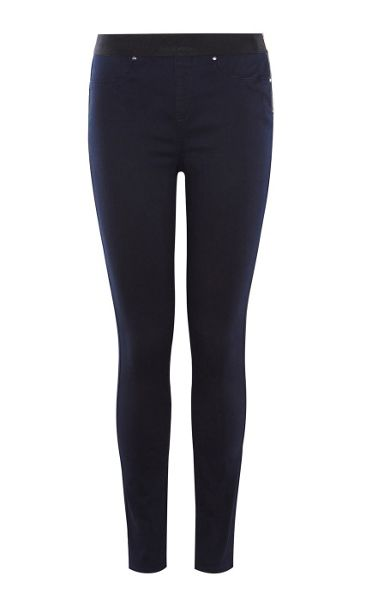 Karen Millen Satin Denim Legging