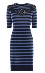 Karen Millen Compact Stretch Knitted Dress