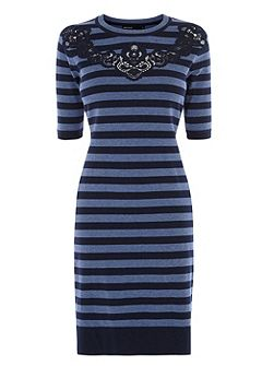 Compact Stretch Knitted Dress